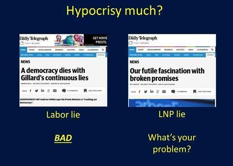Lib vs Lab lies