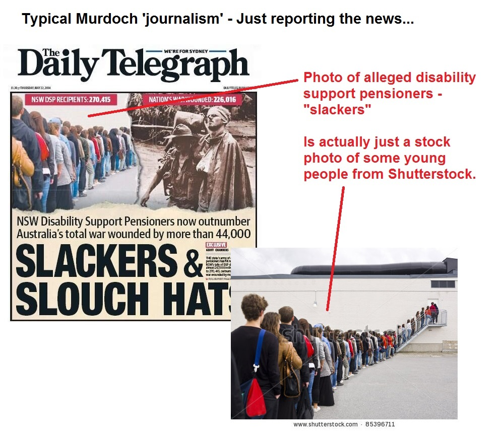 Murdoch Fake Photo