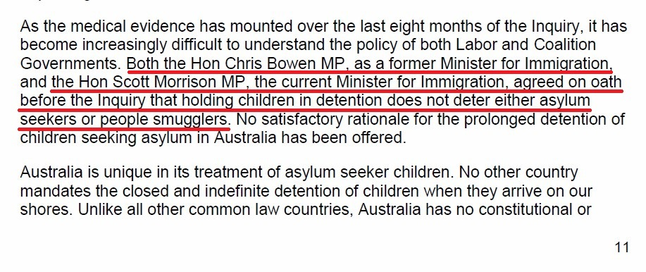 Abbott knows kids in detention is no deterrent