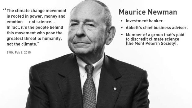 Maurice Newman image and quote